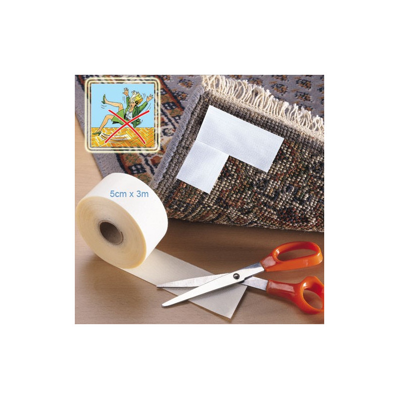 Ruban antidérapants pour fixer les tapis