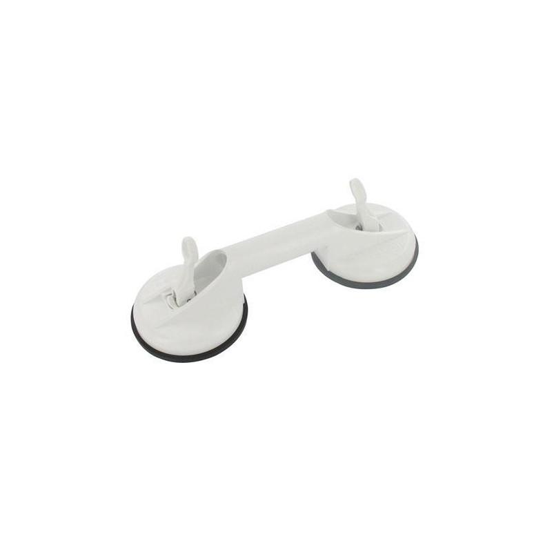 Barre d 39 appui ventouses mobeli barre de maintien salle for Barre salle de bain