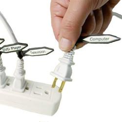 Les repères câbles