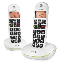 Téléphone sans fil Doro Dect PhoneEasy 100W Duo