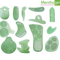 Tubes de protection pour orteils Menthogel