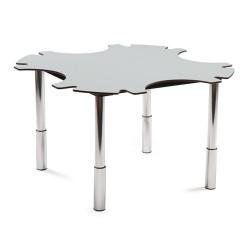 Table ronde ergo'technik à hauteur variable 4 places