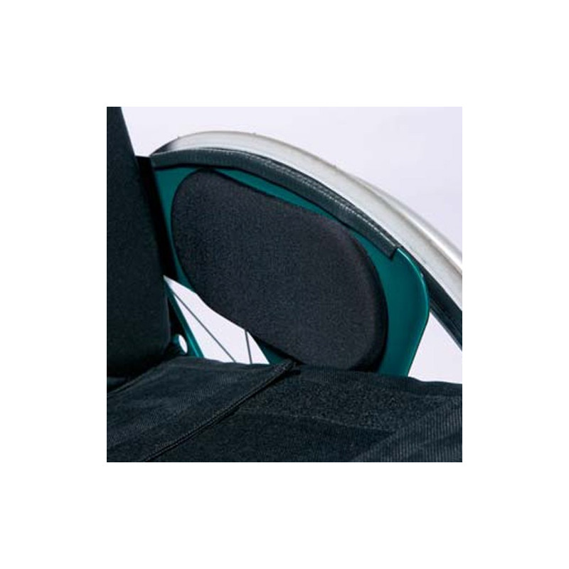 Paire de coussinets adhésifs ovales 20 cm V32