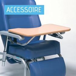 Tablette pour fauteuil de repos