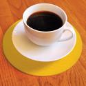Dessous de verre ou tasse antidérapant rond 19 cm