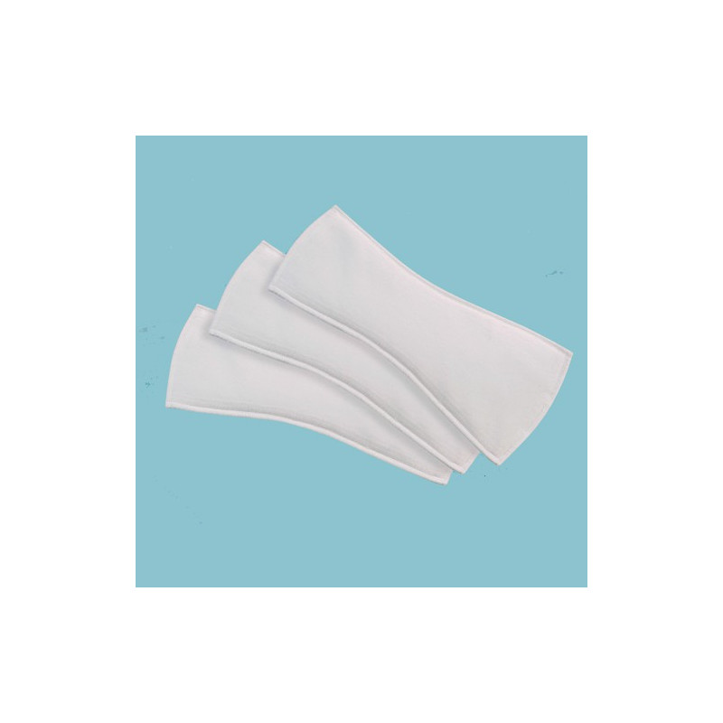 Lot de 3 protections absorbantes moyennes