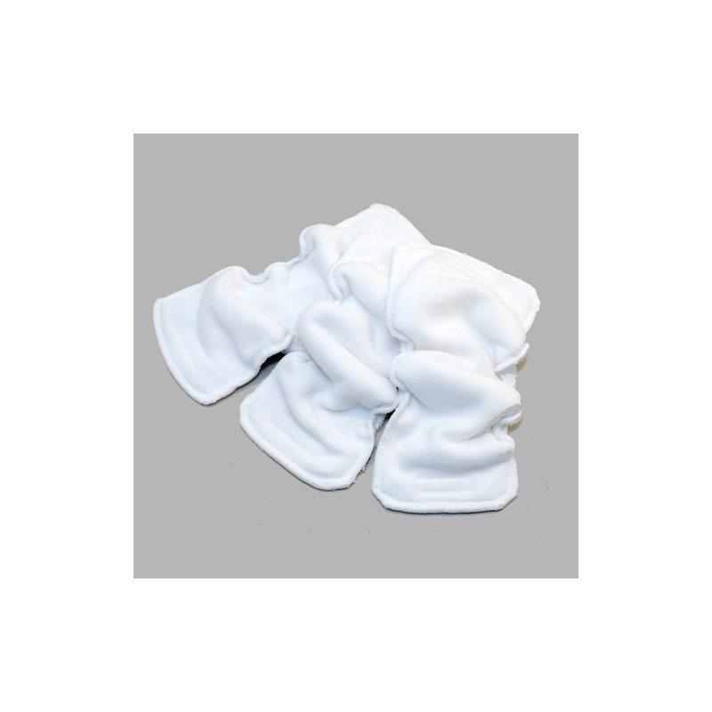 Lot de 3 coquilles absorbantes moyennes