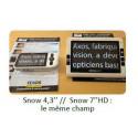 """Loupe électronique portable Zoomax Snow 7"""" HD"""