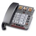 Téléphone filaire PowerTel 68 plus - Amplicomms