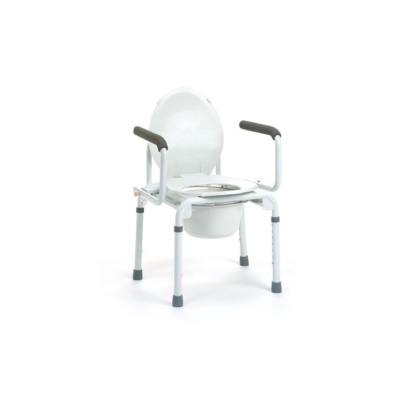 Chaise percée et cadre rehausseur de WC Stacy