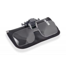 Clip & Flip™ loupe pour lunettes