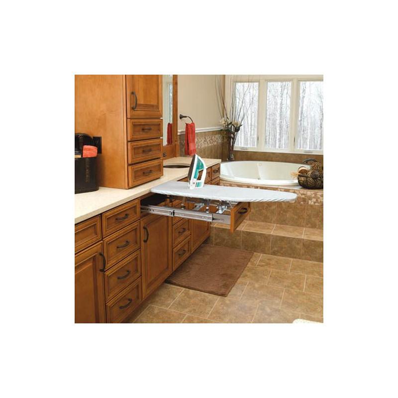planche repasser encastrable dans un meuble mobilier ergonomique tous ergo. Black Bedroom Furniture Sets. Home Design Ideas