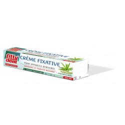 Crème fixative pour appareil dentaire