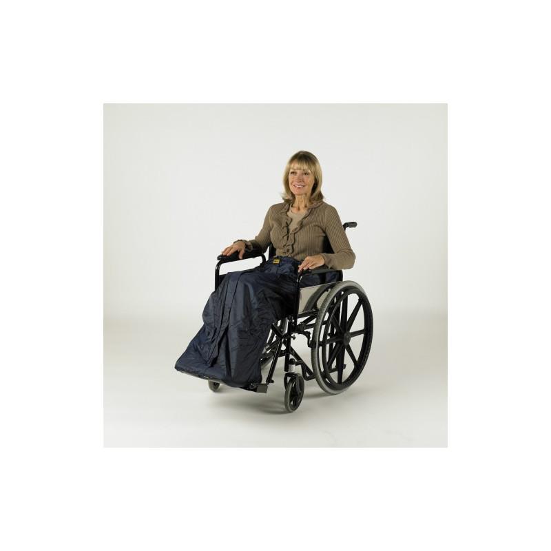 Housse à enfiler avec doublure pour fauteuil roulant