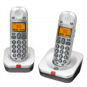 Lot de deux téléphone sans fil BigTel 202 - Amplicomms