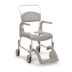 Chaise de douche Clean petites roues