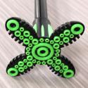 Embout stabilisateur Gecko pour canne de marche