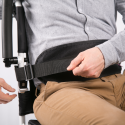 Ceinture de maintien respirante pour fauteuil roulant