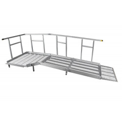 Rampe PMR modulaire extra longue
