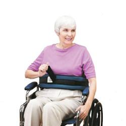 Ceinture rembourrée pour fauteuil roulant