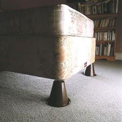 Lot de 4 cônes élévateurs de lit