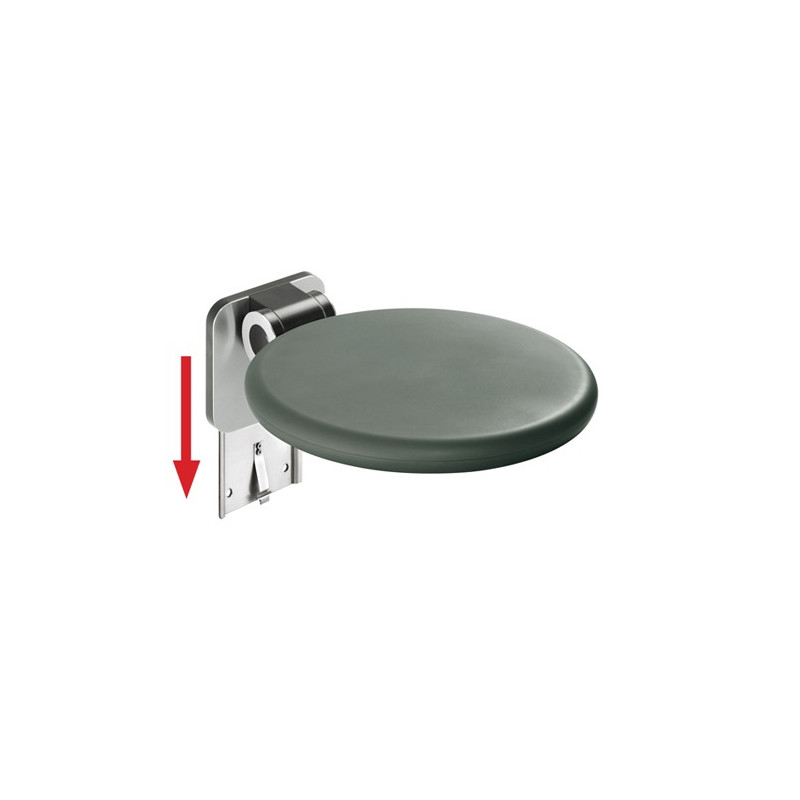 Strapontin de douche à assise ronde A-Fex - FSB