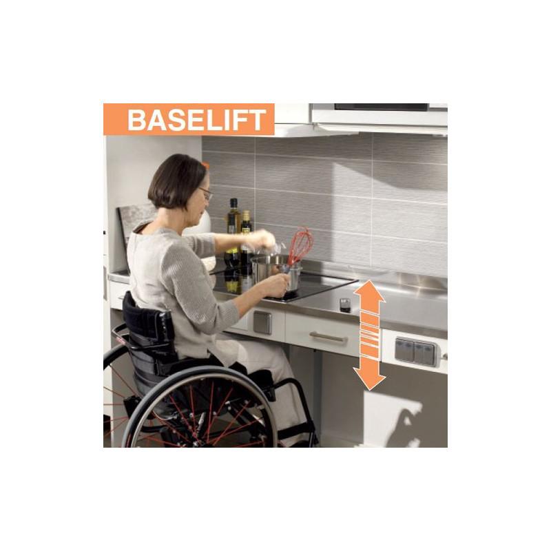 Elévateur de plan de travail droit BASELIFT