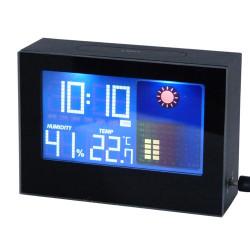 Horloge météo digitale