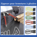 Lot de 12 zippeurs pour fermetures éclairs