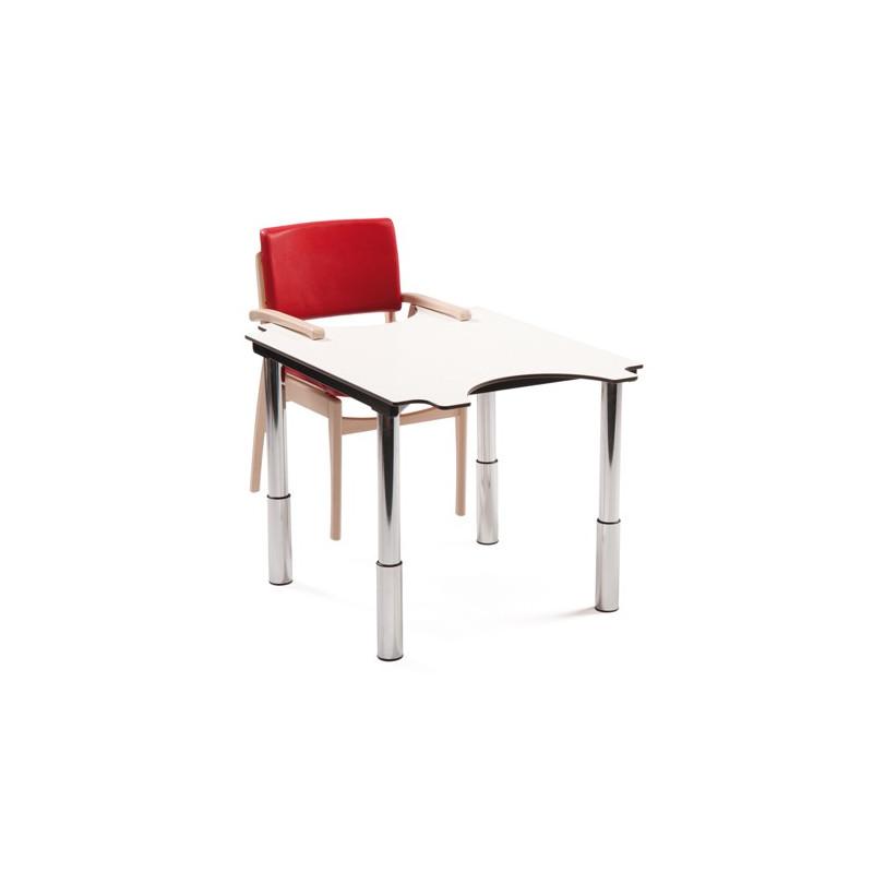 Table ergo'technik à hauteur variable 2 places