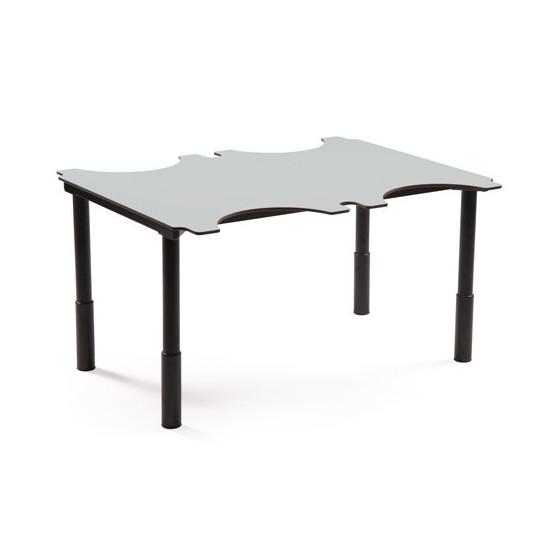 Table ergo'technik à hauteur variable 4 places