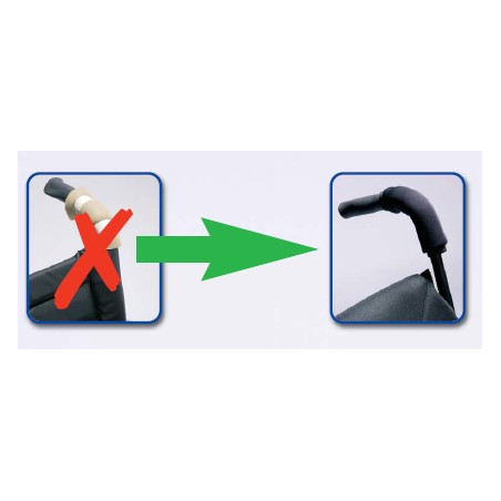 Protection de poignées velcro