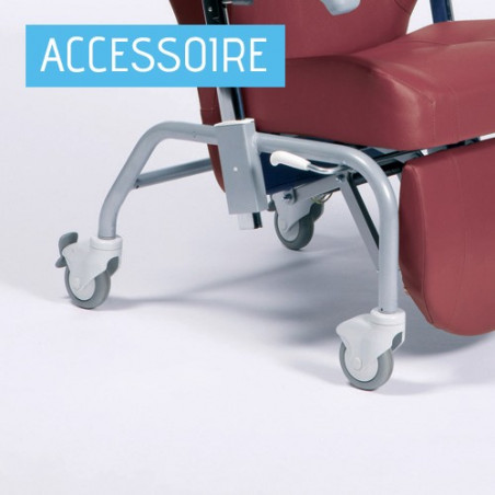 Roulettes pour fauteuil de repos