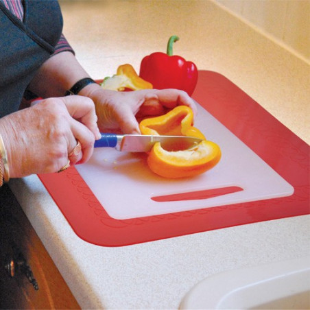 Set de table antidérapant rectangulaire 25 x 18 cm