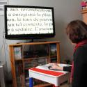 Loupe vidéo électronique TV