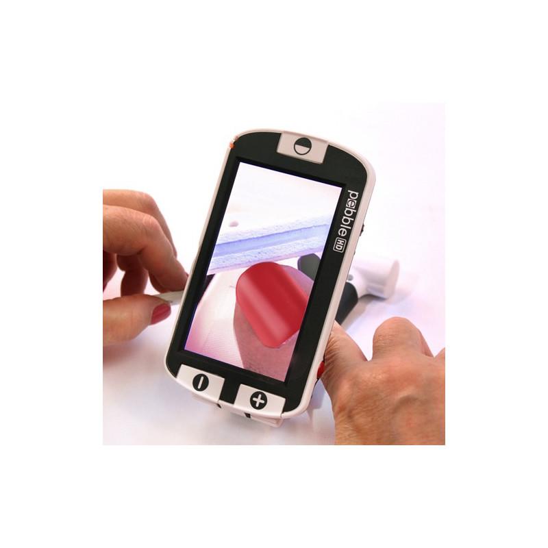 Loupe électronique portable PEBBLE HD malvoyant