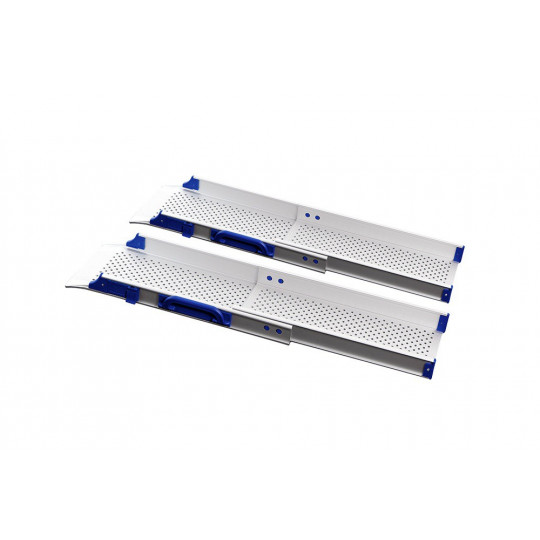 Rampes d'accès alu télescopiques pliables