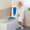 Siège élévateur de bain Bathmaster Deltis + disque de transfert