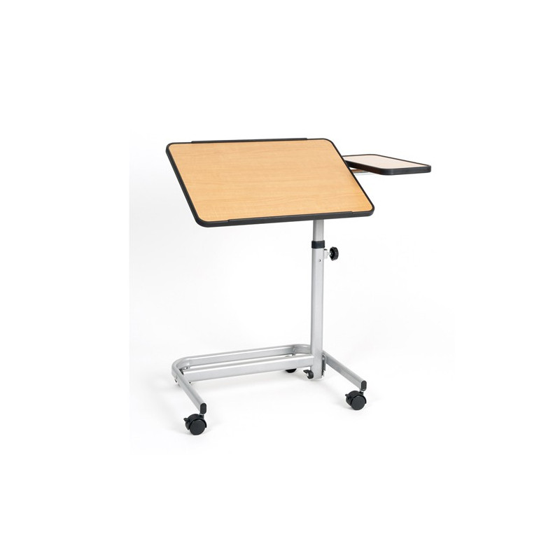 Table de lit sur roulettes 2 fonctions