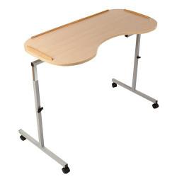 Table de lit ajustable en hauteur et largeur