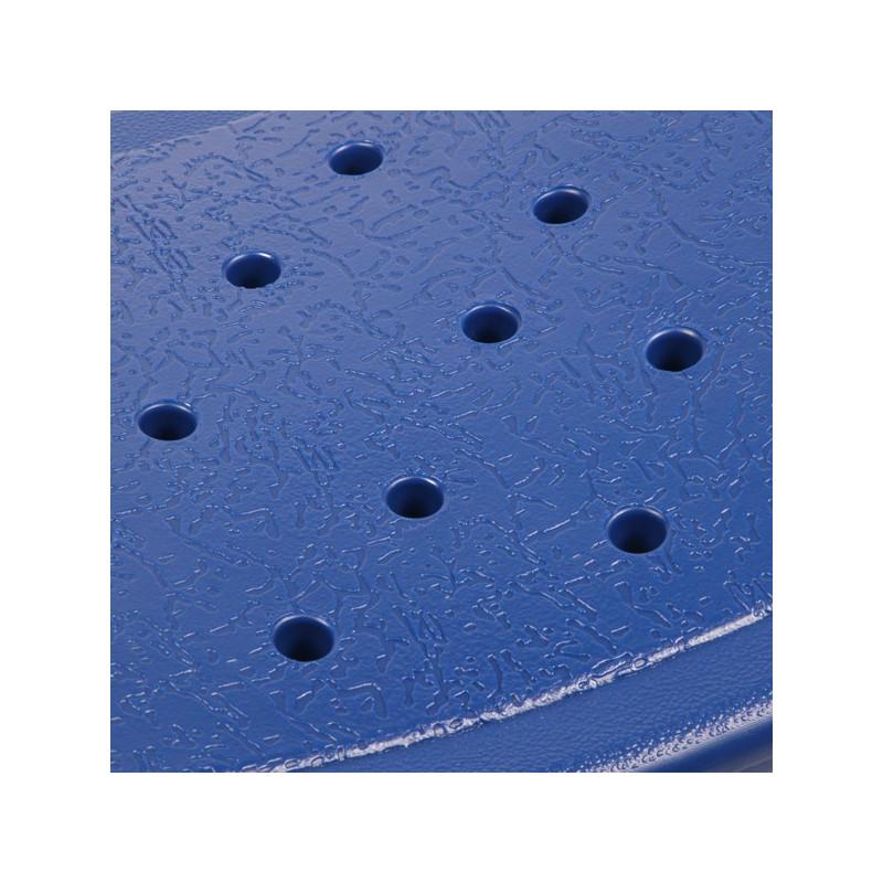 Tabouret de douche incurvé Jill bleu
