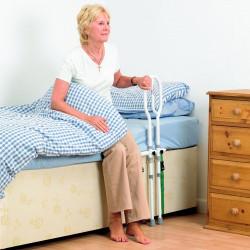Barre d'appui de lit réglable