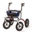 Déambulateur TRIONIC à roues Extra Larges