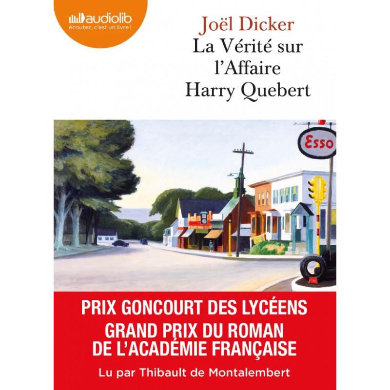 Livre audio CD : La Vérité sur l'affaire Harry Quebert