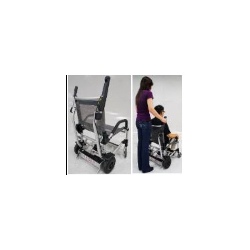 """Kit """"station debout"""" pour fauteuil roulant électrique Zinger"""