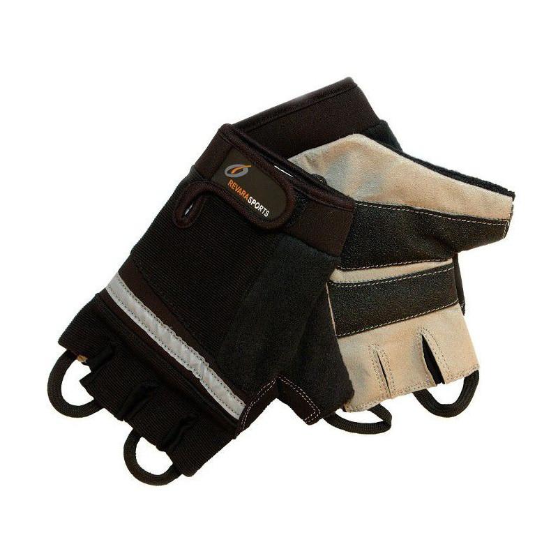 Mitaines pour fauteuil roulant REVARA Sport - gris