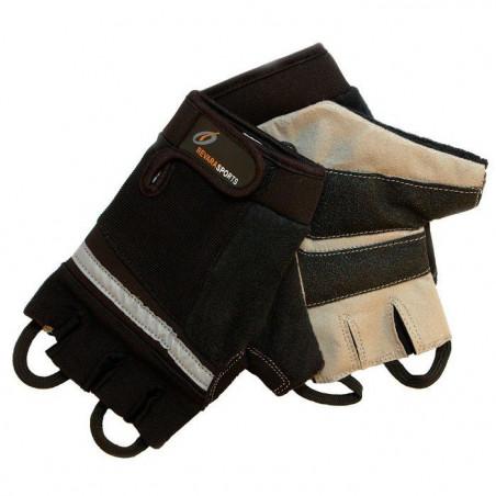 Mitaines pour fauteuil roulant REVARA Sport - noir