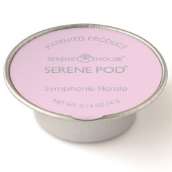 Lot de 6 capsules de cire parfumée Serene Pod Symphonie Florale - 4 g