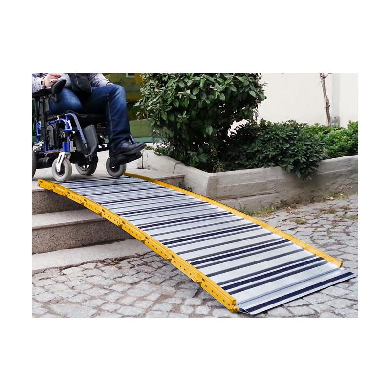 Rampe d'accès modulaire et enroulable Roll Up