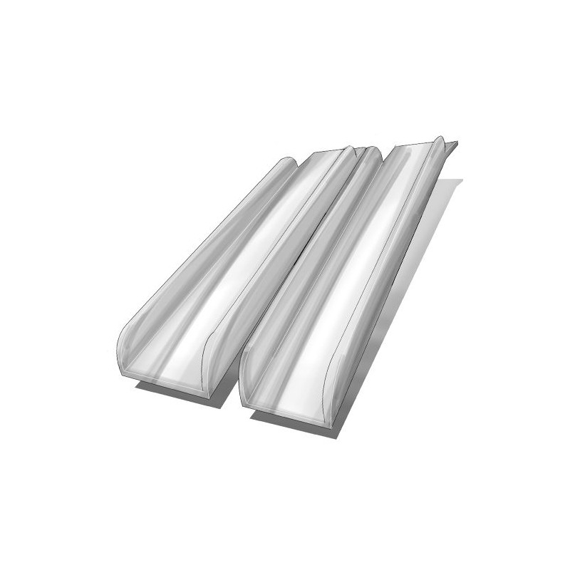 Paire de rampes d'accès longueur fixe extra-longues